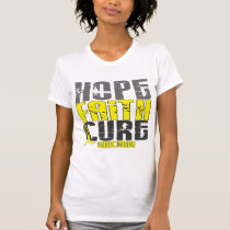 HOPE FAITH CURE SARCOMA T-Shirts & Apparel