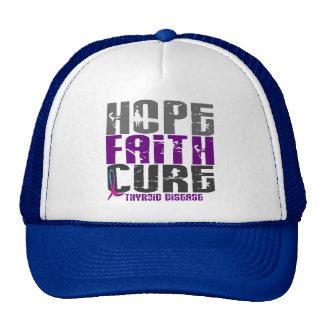 HOPE FAITH CURE THYROID DISEASE T-Shirts & Apparel Trucker Hat