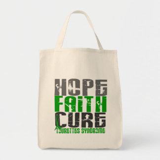 Hope Faith Cure Tourette's Syndrome Tote Bag