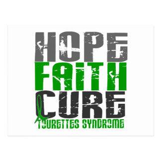 Hope Faith Cure Tourette's Syndrome Postcard