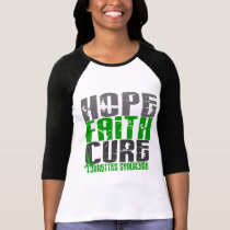 Hope Faith Cure Tourette's Syndrome T-Shirt