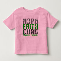 Hope Faith Cure Tourette's Syndrome Toddler T-shirt