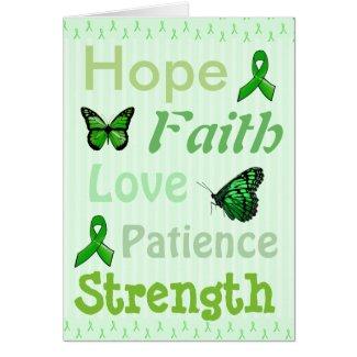 Hope, Faith Encouragement Lyme Disease Card