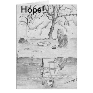 Hope,Faith, Get Well Soon Card