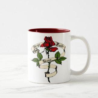 Hope, Faith, Love Mug
