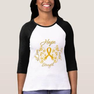 Hope Faith Love Strength Appendix Cancer Shirts