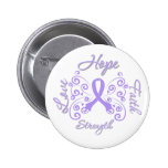Hope Faith Love Strength General Cancer Pins