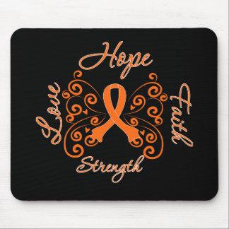 Hope Faith Love Strength Leukemia Mouse Pads