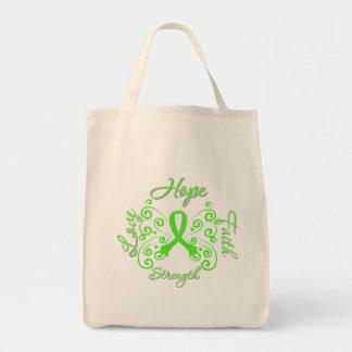 Hope Faith Love Strength Lymphoma Bag