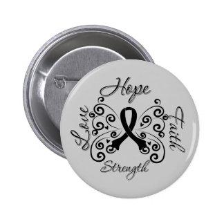 Hope Faith Love Strength Melanoma Button