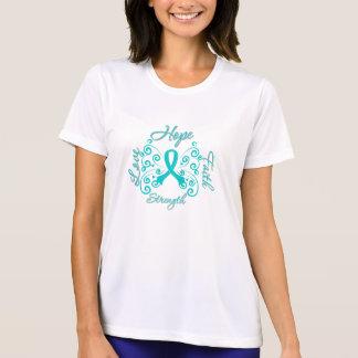 Hope Faith Love Strength PCOS Tee Shirt