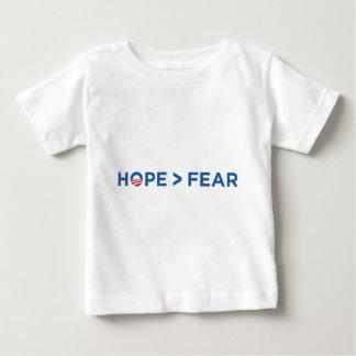 hope > fear barack obama 2008 hope won baby T-Shirt
