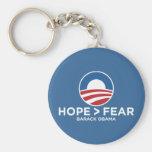 hope > fear obama 08 hope won key chains
