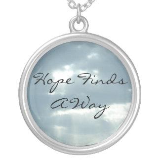 Hope Finds A Way Pendants