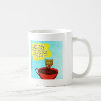 Hope floats Coffee Love Basic White Mug