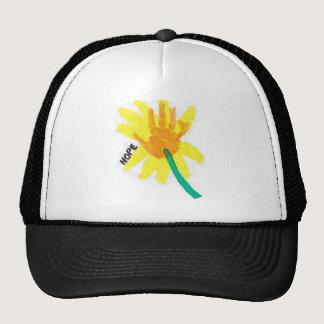 Hope Flower Trucker Hat
