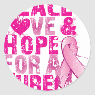 hope for a cure 2009 classic round sticker