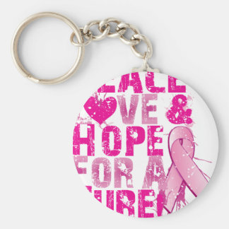 hope for a cure 2009 keychain