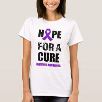 Hope for a Cure Alzheimer Awareness shirt