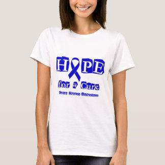 Hope for a Cure - Blue Ribbon T-Shirt