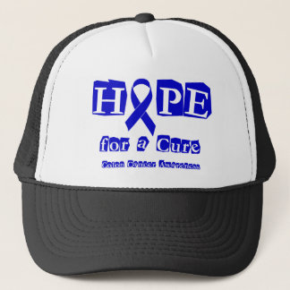 Hope for a Cure - Blue Ribbon Trucker Hat
