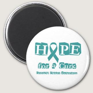 Hope for a Cure - Cervical Cancer Magnet