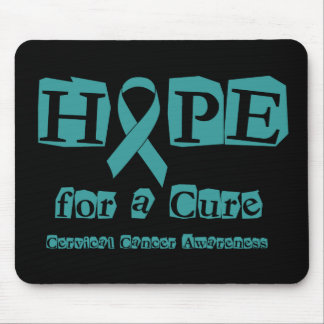 Hope for a Cure - Cervical Cancer Mouse Pad