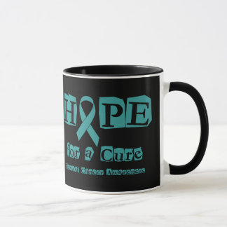 Hope for a Cure - Cervical Cancer Mug