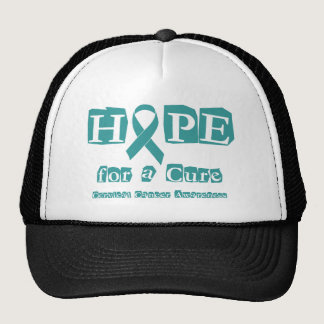 Hope for a Cure - Cervical Cancer Trucker Hat