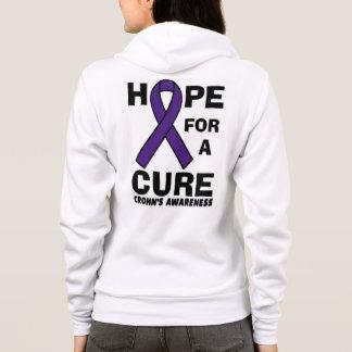 Hope For A Cure...Crohn's Hoodie