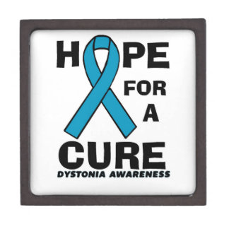 Hope For A Cure...Dystonia Keepsake Box