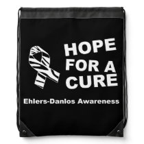 Hope For A Cure Ehlers Danlos Awareness Cinch Bag