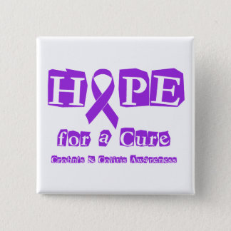 Hope for a Cure for Crohn's & Colitis Button
