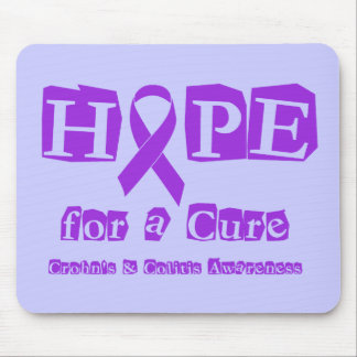 Hope for a Cure for Crohn's & Colitis Mouse Pad