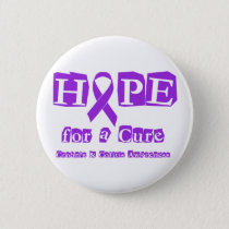 Hope for a Cure for Crohn's & Colitis Pinback Button