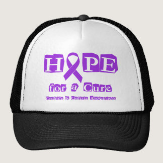 Hope for a Cure for Crohn's & Colitis Trucker Hat