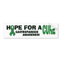 Hope For A Cure...Gastroparesis Bumper Sticker