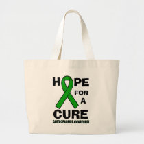 Hope For A Cure...Gastroparesis Large Tote Bag