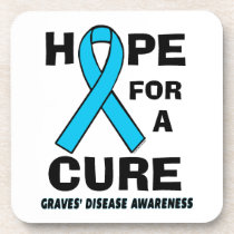 Hope For A Cure...Graves' Coaster