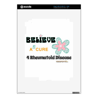 Hope for a cure iPad 2 decal