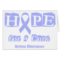 Hope for a Cure - Lavender Ribbon General Cancer