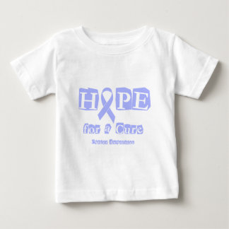 Hope for a Cure - Lavender Ribbon General Cancer Baby T-Shirt