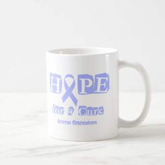 Hope for a Cure - Lavender Ribbon General Cancer Coffee Mug