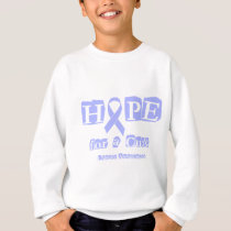 Hope for a Cure - Lavender Ribbon General Cancer Sweatshirt