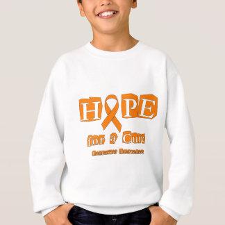 Hope for a Cure - Leukemia Sweatshirt