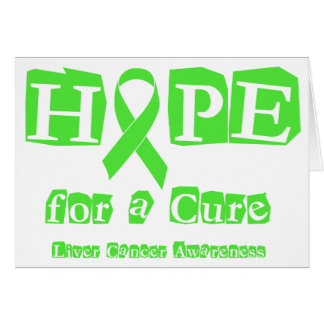 Hope for a Cure - Liver Cancer Card