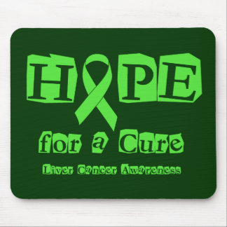 Hope for a Cure - Liver Cancer Mouse Pad