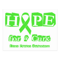 Hope for a Cure - Liver Cancer Postcard