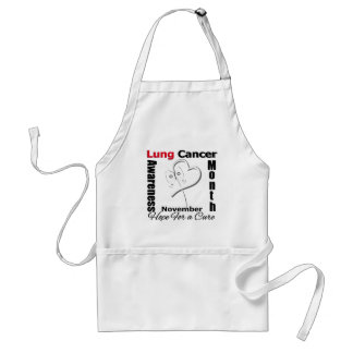 Hope For a Cure - Lung Cancer Awareness Month Aprons