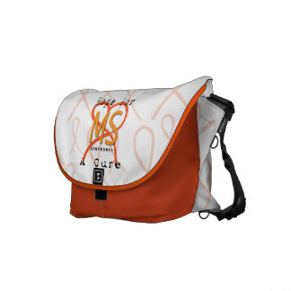 Hope For A Cure - MS Awareness Courier Bag